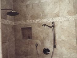 Master Shower Double Headed Shower